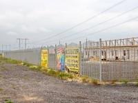 Строительство придорожного комплекса Алексея Евтеева на выезде из деревни