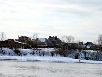 Дома на берегу Москва-реки