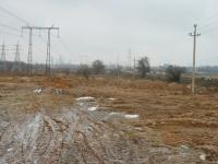 Стройка на окраине Нижнего Мячково у Володарского шоссе