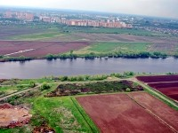 Территория будущего Национального центра Авиастроения в городе Жуковский