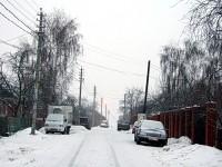Переулок в деревне Орлово