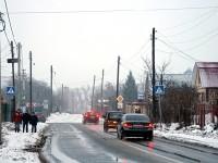 Дорога через деревню Орлово
