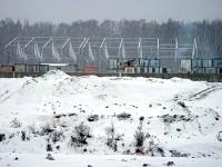 Стройка на новой территории КСК Левадия