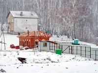 Стройка КСК Левадия возле Орлово