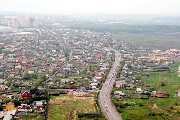 Новорязанское шоссе в сторону Москвы