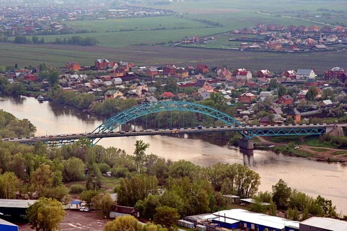 Мост через Москва-реку на Новорязанском шоссе
