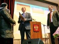 Староста деревни Прудки награждается почетной грамотой