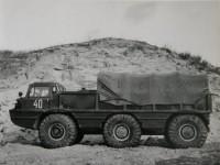 Грузовой вездеход ЗИЛ-132П в районе базы Чулково (фото из архива Яна Якушкина)