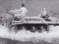 Испытания ПКЦ-1 на реке Пахра в районе базы