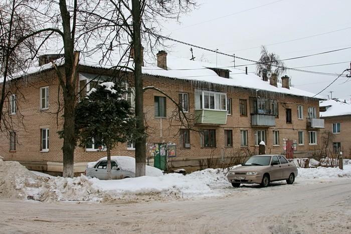Поселок Тельмана - старые дома