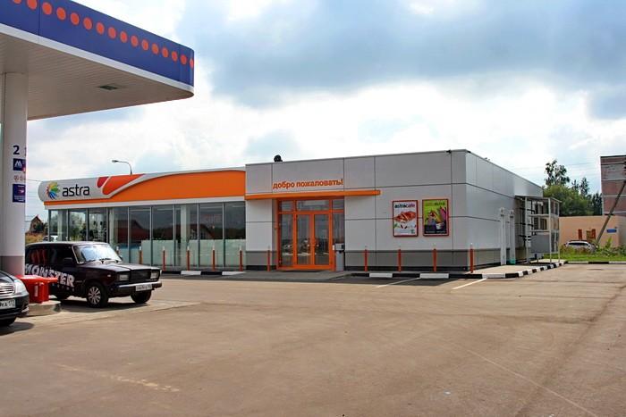 АЗК ТНК в поселке Володарского - AstraCafe и AstaWash