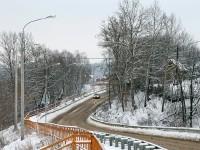 Эстакада на дороге в пос. Володарского от Константиново