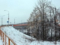 Новый мост в пос Володарского со стороны Константиново