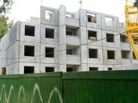 Строительство многоэтажки - август 2013