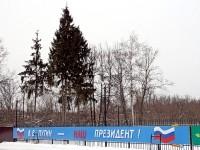 Незаконная агитация в поселке Володарского