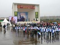 Концерт на центральной площади конного парка Русь