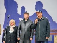 Приветственное слово заместителя главы Ленинского района  Сергея Волощука