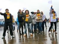 Молодежь празднует день народного единства
