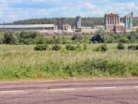 Вид на завод Русеан с Константиновского шоссе