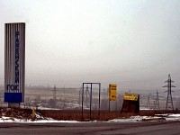Съезд на территорию РГОК с Володарского шоссе