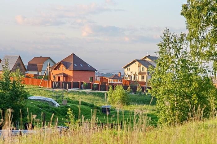 Новая застройка деревни Редькино