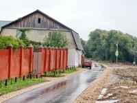 Заасфальтированная дорога в Редькино - сентябрь 2013
