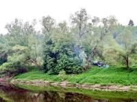 Вид от базы отдыха в Григорчиково