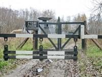 КПП Лагеря - октябрь 2013
