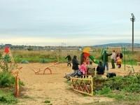 Детская площадка в Щеголево - август 2013