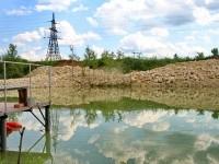 Новый пожарный пруд в СНТ Кварц