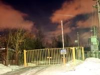 Ворота на въезде в СНТ Кварц