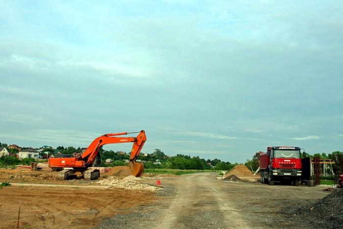 В Титово начато строительство пирса