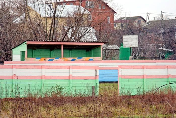 Новая спортивная площадка в Титово - ноябрь 2011