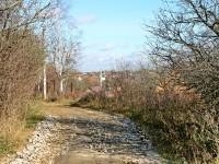 Дорога вдоль каменоломен