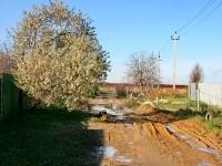 Осенняя распутица - улица Ясная