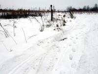 Дорога в Титово зимой