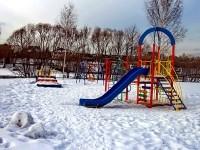 Детская площадка в ТСЖ Торпедо