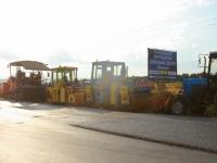 Дорожная техника на Володарском шоссе - август 2014