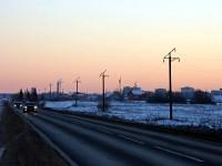 Дорога в поселок Володарского