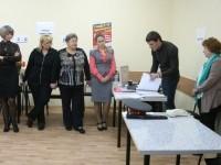 Выдача списков избирателей