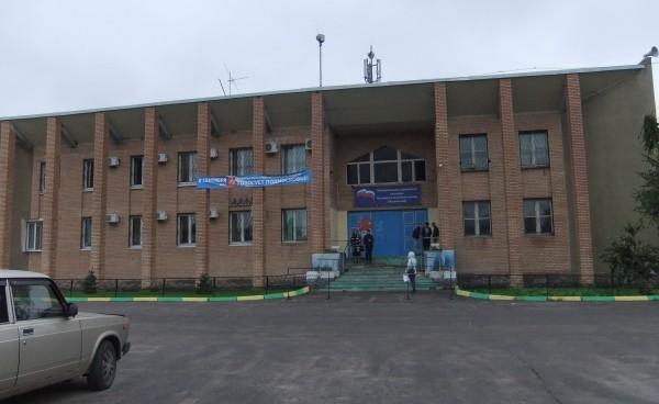 Здание ДК в пос Тельмана