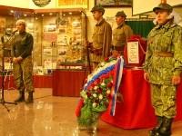 Церемония передачи останков в г. Коломна - говорит Ольга Стружанова руководитель  поискового отряда