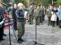 Руководитель отряда Суворов из Коломны Ольга Стружанова обращается к общественности г. Лыткарино