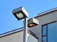 Современный уличные светильники во дворе