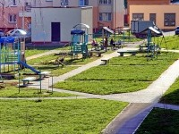 Жилой комлекс Ольховка в поселке Володарского - двор