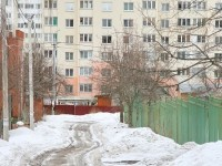 Дорога от частного сектора в Ольховку