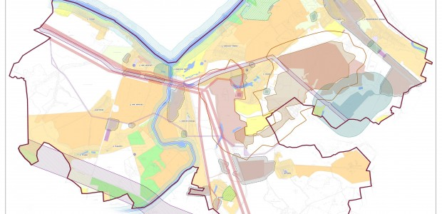 Карта зон с особыми условиями использования