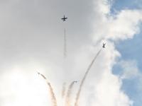 Выступление пилотажной группы Русь - фигура тюльпан