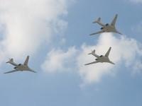 Стратегические бомбардировщики ТУ-160 Белый Лебедь