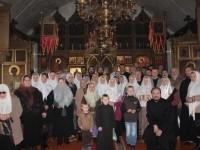 Прихожане тураевской старообрядческой общины